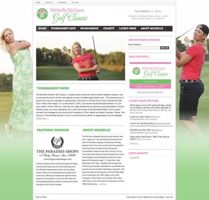 Michelle McGann Golf Classic